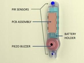 AnimAlarm - a sensor to control pet movements