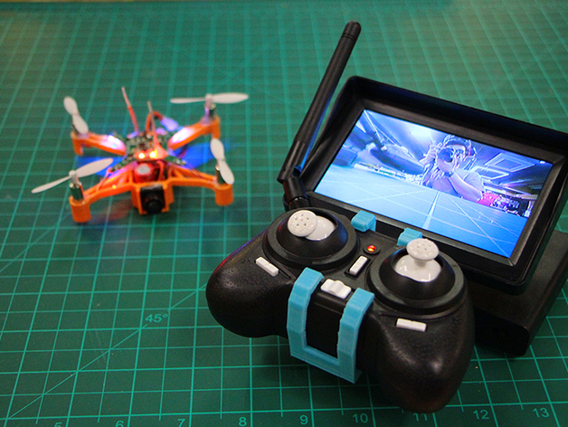 FPV Micro Drone Remote Screen Holder BeanCopter By EduardoChamorro