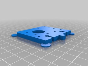 3D Printable Replacement Parts for Plastruder MK6 Support (plate A )