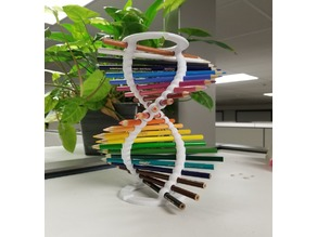 Smoother DNA Pencil Helix