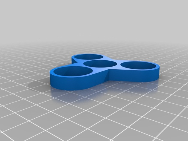 parametric tri spinner fidget toy by slick8086 thingiverse. Black Bedroom Furniture Sets. Home Design Ideas