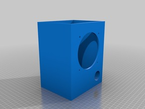 Simple 4 inch speaker box