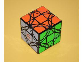 LimCube Dreidel 3x3x3 Cube Stickers