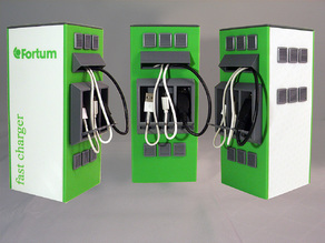 Mini Fortum Charge & Drive charge station