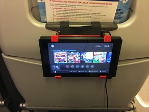 Nintendo Switch Plane Tray Table Holder Mount