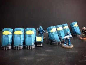 Cryo-Pods (15mm scale)