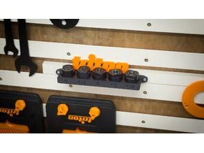 Présentoir pince de serrage Triton tools TRA001/MOF001/JOF001 / Collet support