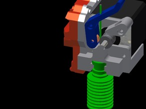 Compact i3 Extruder - E3D Hotend