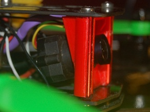ZMR 250 Fatshark 600tvl FPV cam mount with 15 degrees tilt