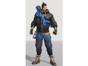 Overwatch - Casual Hanzo - Special winter skin