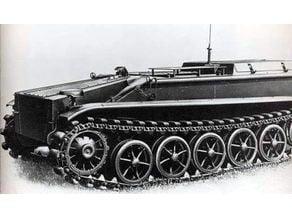 Borgward IV explosive teletank