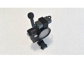 GoPro Mic Adapter Hot Shoe Mount Keeper