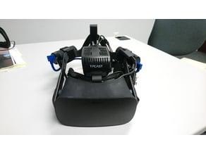 Oculus CV1 & TPCAST Dual Battery Mod