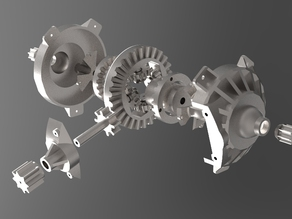 Differential (3D Printable, Working)