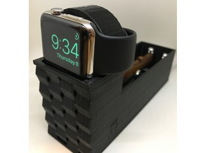 Apple Watch Stand with Band Holder