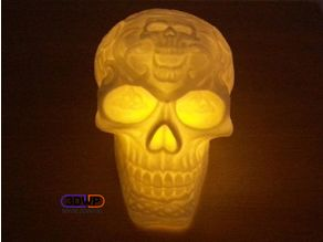 Celtic Skull (Hollow)