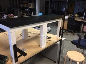 Ikea Lack Table clamp
