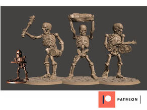 28mm Skeleton Army Undead Giants Miniatures