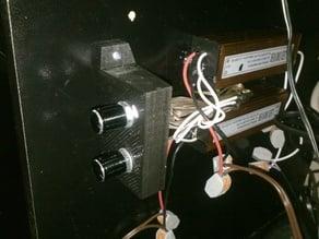 Dual Rheostat Control Box