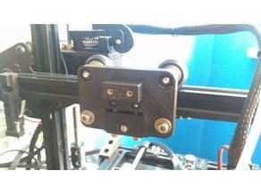 Anet e10 X carriage e3d v-slot