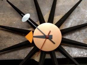 Vitra Sunburst wall clock style
