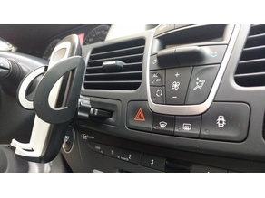 Universal phone support for Renault Laguna III