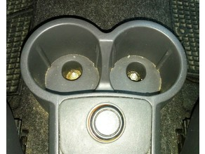 Pad for fiat panda cup holder