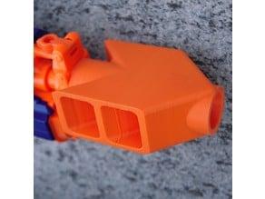 Nerf Barret Muzzle Brake Barrel Attachment