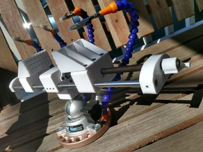 PanaVise Compatible Self-centering Vise and Jaws