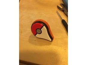 Pokemon Go Plus Ring - Size 8 - 18mm