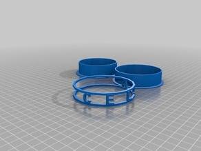 My Customized Rotating text bracelet CELIA