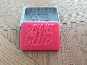 Fight club soap mold