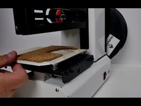 Cork insulation for Monoprice Select Mini 3D Printer