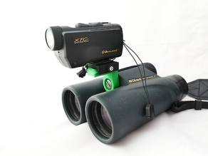 NATO/Picatinny Rail for Binoculars (Parametric)