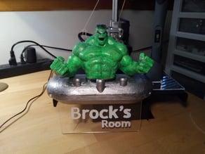 Hulk - Edge_Lit_Sign