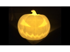 Halloween Jack-O-Lantern Pumpkin with LED Lighting