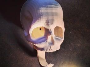 skull key holder