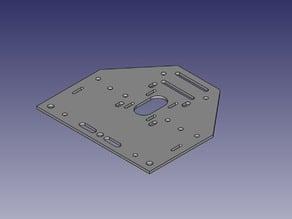 Shapeoko 2.5 Motor Plate