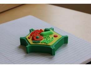 Multi-Color Mini Plant Cell