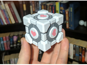 Weighted Companion Cube - Multi-Material