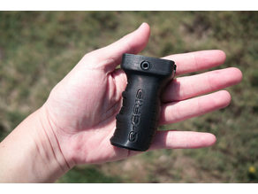 Q-Grip foregrip for small firearms
