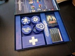 Pandemic Board Game Organizer
