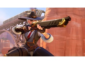 Overwatch Ashe's The Viper Gun