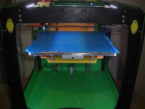 Ultimaker aluminium heated bed