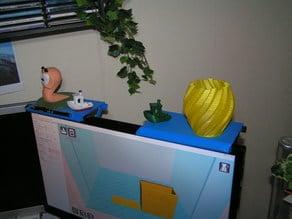 Monitor-Ablage