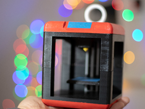 3D Printer Miniature Christmas Ornament - Finder-like
