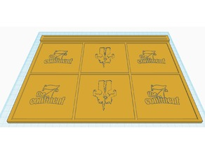 7th Continent - Player and equipment Tray