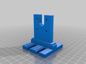 Prusa i3 Rework - Height Adjustable Micron 3DP Extruder Brackets
