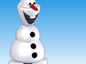 Do you wanna print a snowman? - Olaf from Frozen