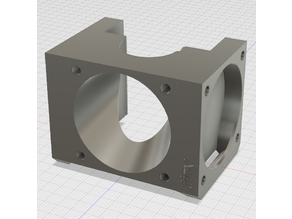 E3D v6 40mm Fan duct with Layer Fan .tiny